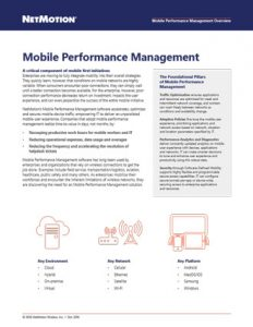 mobile-performance-management-overview